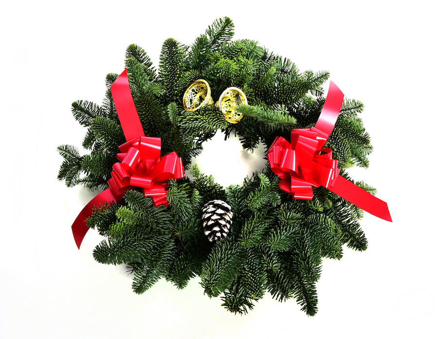 Large Noble Fir Wreaths