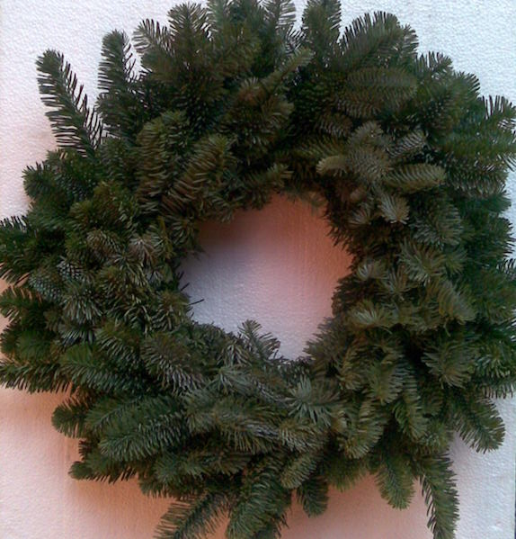 Plain Noble Fir Wreaths (Undecorated)
