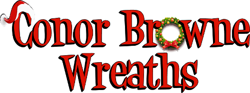 Conor Browne Wreaths - Suppliers of Quality Christmas Wreaths, Christmas Trees, Noble Fir Foliage, Decorations and Florist Sundries